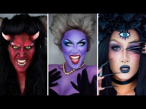 Extreme Halloween Makeup Tutorials By Kyne 4 Makeup Halloween Makeup Halloween Makeup Tutorial