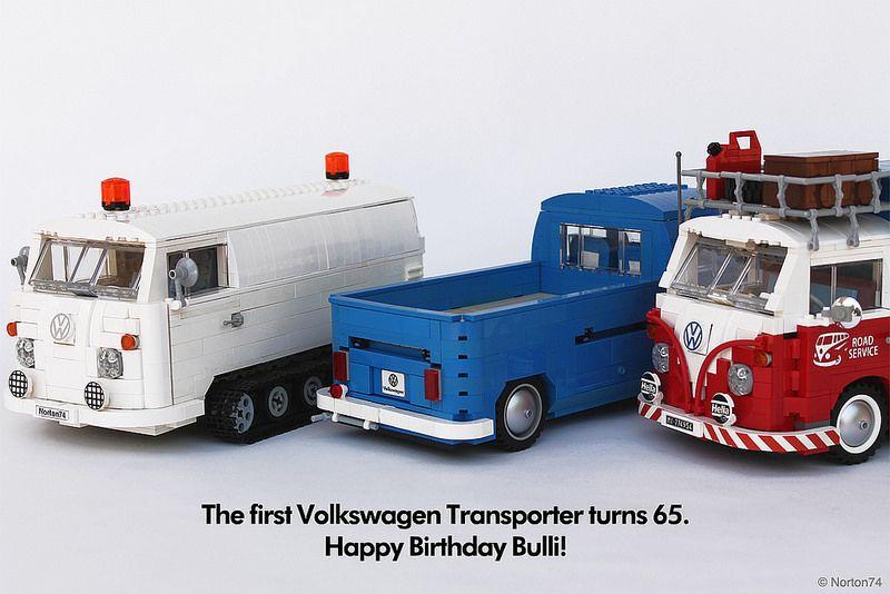 happy birthday bulli the first volkswagen transporter. Black Bedroom Furniture Sets. Home Design Ideas