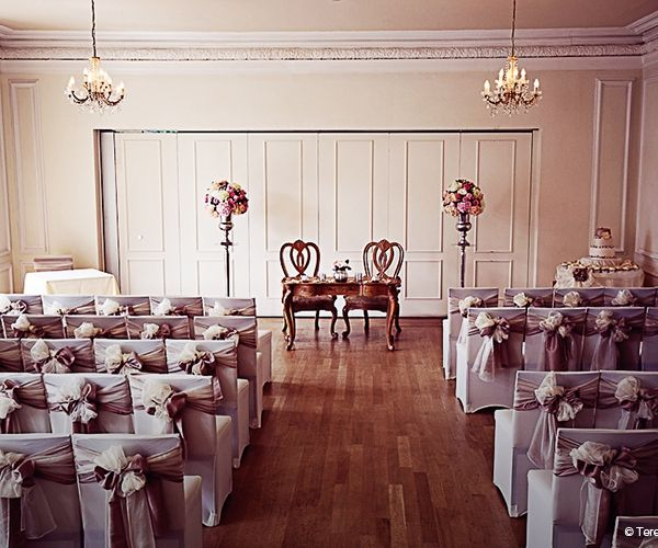 A Civil Wedding Ceremony At West Tower Country House Venue In Lancashire