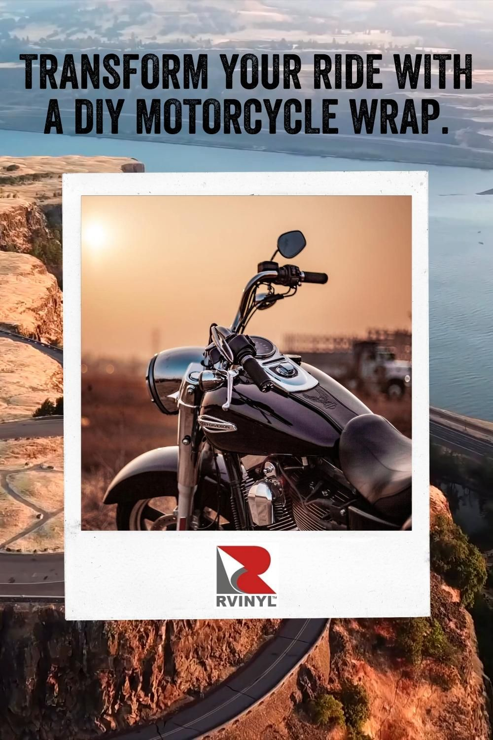 Get Durable Custom Vinyl Motorcycle Wraps For Less Than A Paint Job Video In 2020 Motorcycle Design Motorcycle Tips Vinyl Wrap