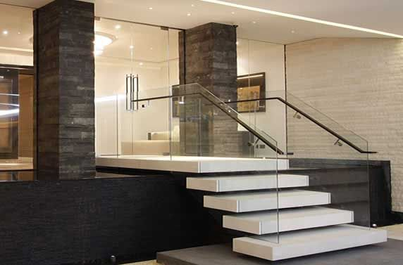 Best نرده های شیشه ای Glass Balustrade Frameless Glass 400 x 300