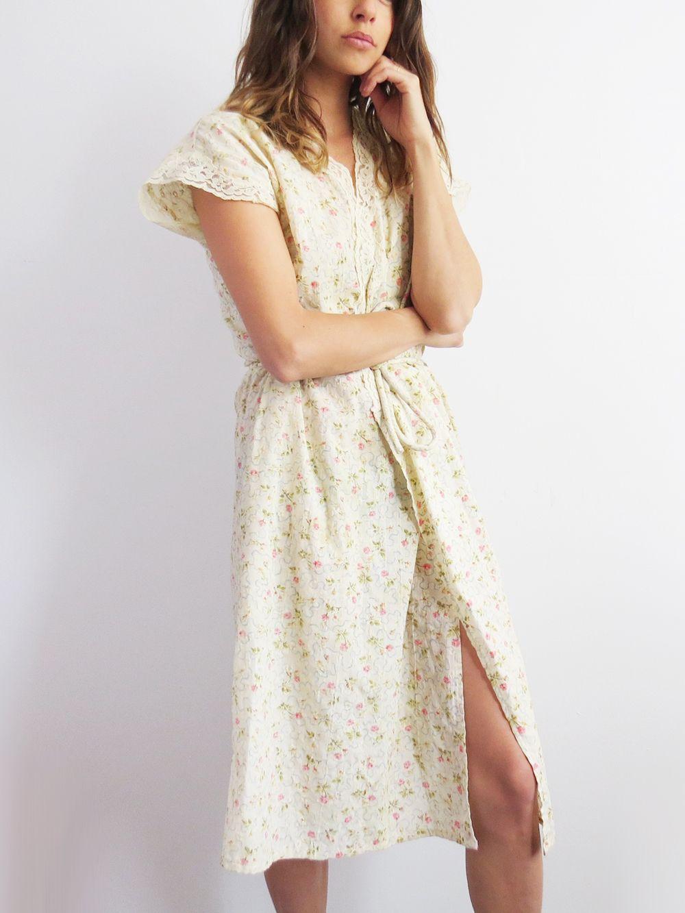 Floral wrap dress vintage floral us dress sold ss