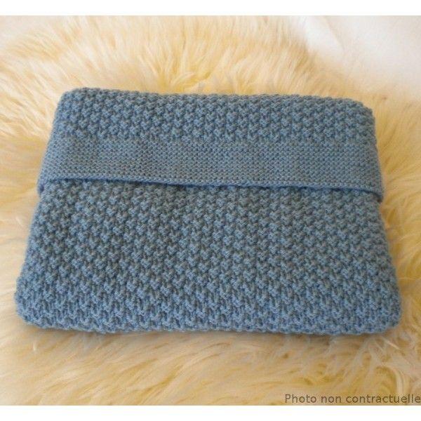 cefba659fa7 photo tricot modele tricot couverture bébé facile 16 Modèles De Couverture  Pour Bébé