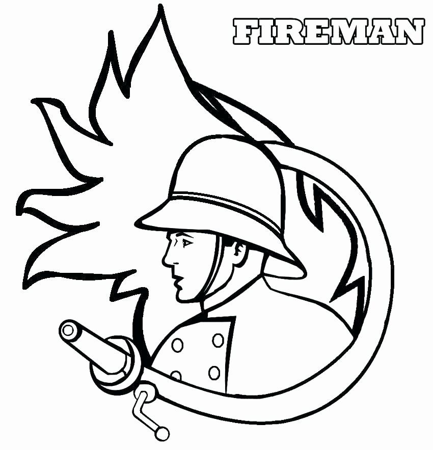 Fireman Hat Coloring Pages New Fireman Hat Coloring Page At Getcolorings In 2020 Fireman Hat Lego Coloring Pages Coloring Pages