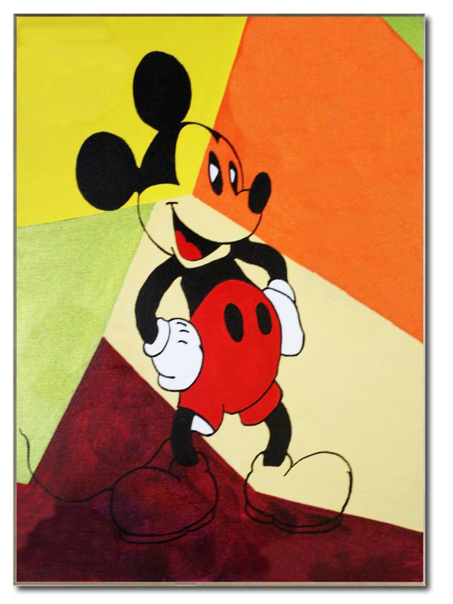 Mickey MOUSE Art Mickey Mouse Birthday Kids Room Decor Acrylic ...