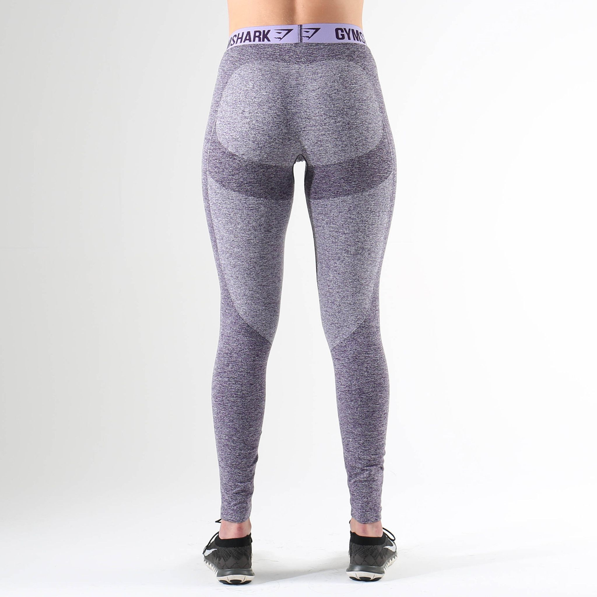 1ace8696f0af0 Gymshark Flex Leggings - Rich Purple Marl/Soft Lilac | fitness ...