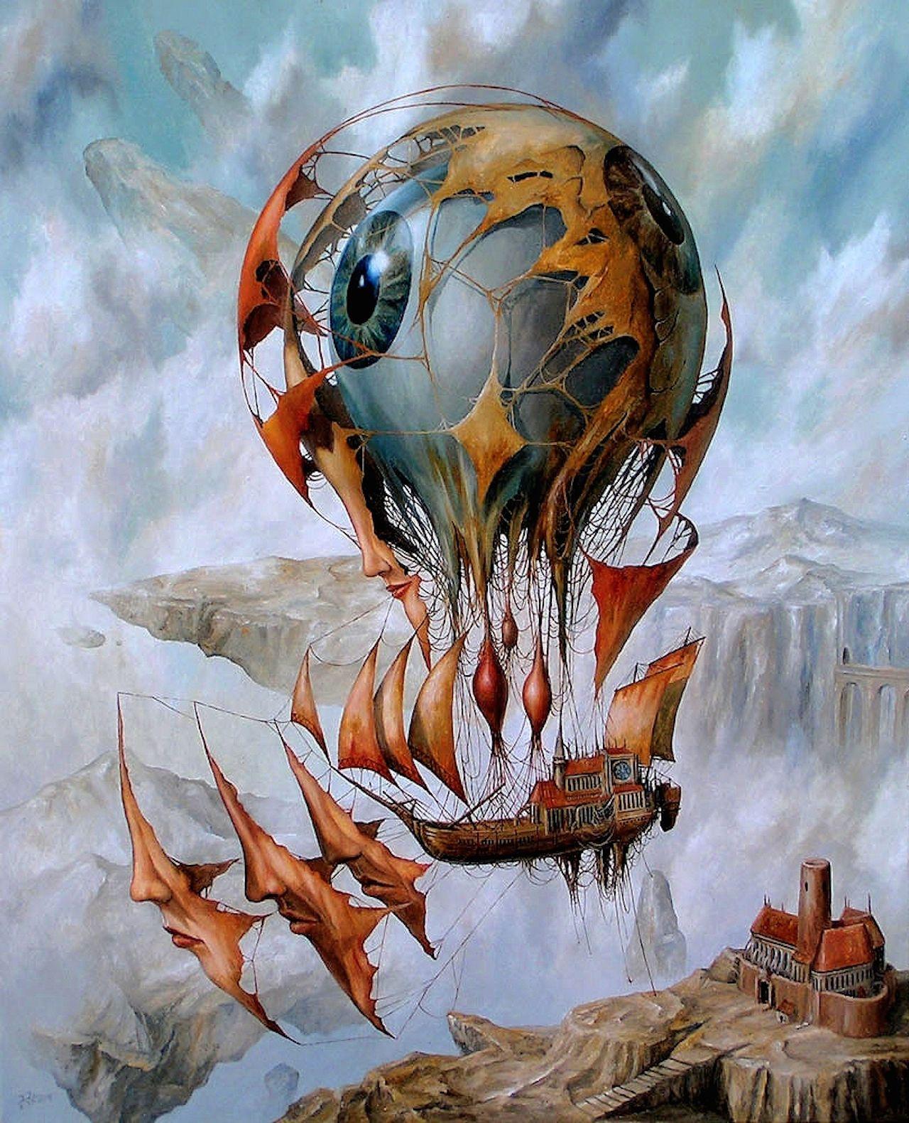Jarosaw Janikowski Surreal Fantasy Digital
