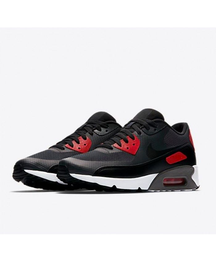wholesale dealer 4231b 3af28 Nike Air Max 90 Ultra 2.0 Essential Anthracite University Red White Black  Trainer