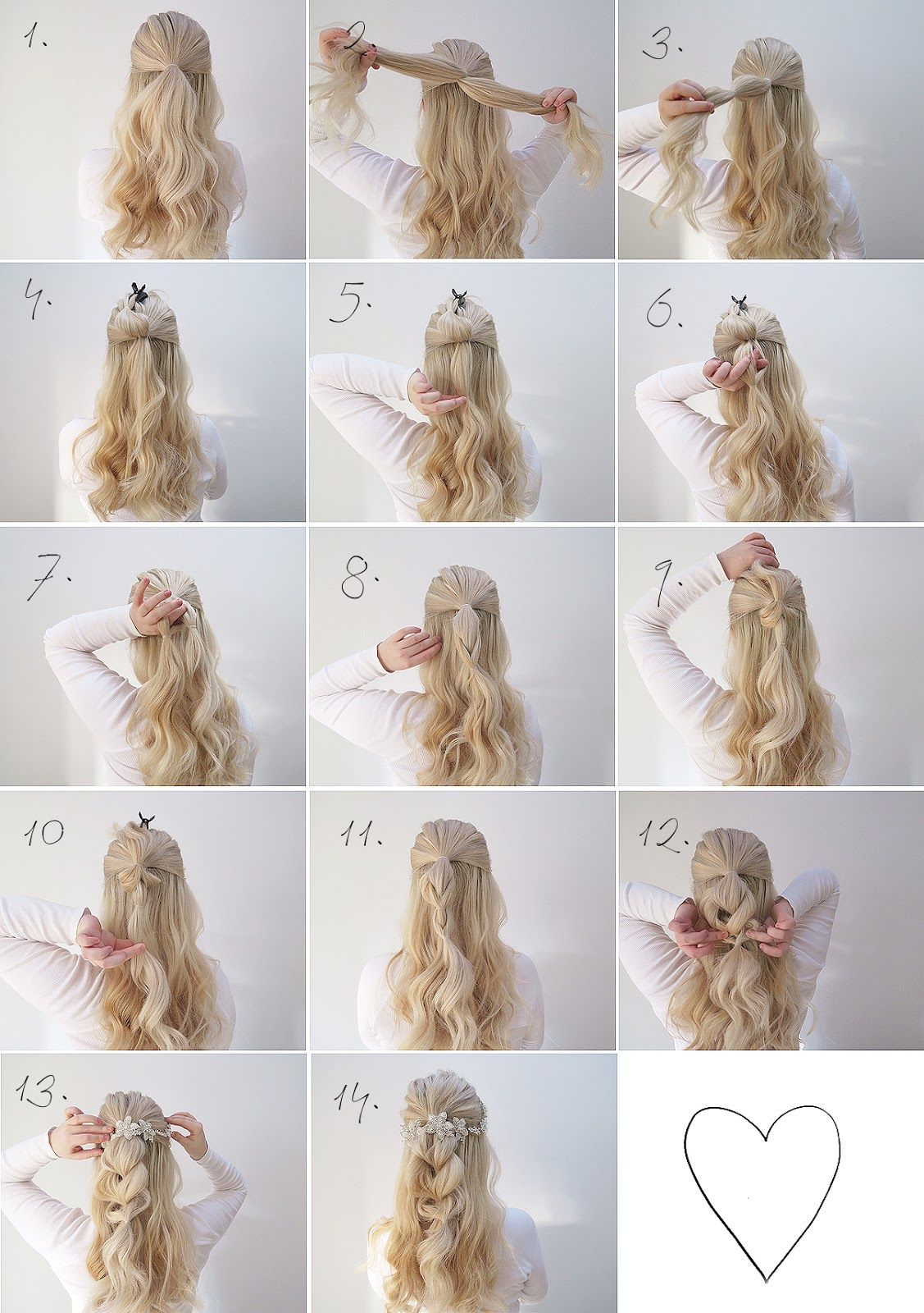 Two Simple Hair Tutorials Perfect For A Wedding Grace