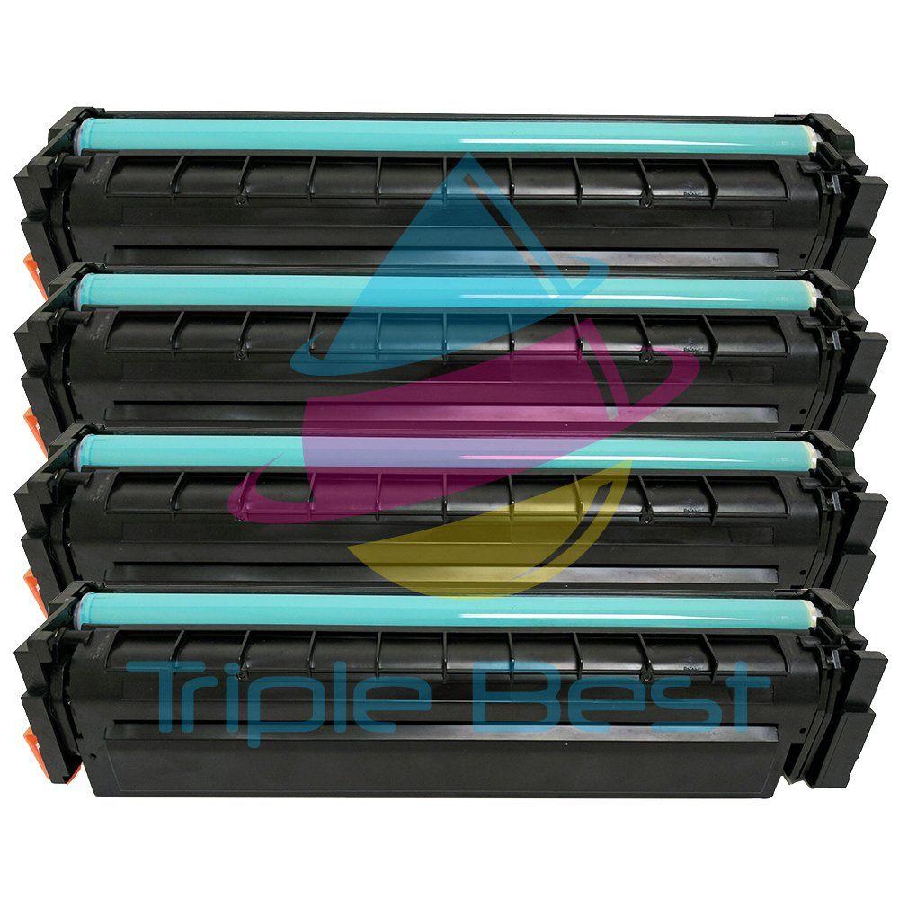 Triple Best Set Of 4 High Yield 201x Black Cyan Magenta Yellow Laser Toner Cartridge For Hp Cf400x Cf401x Cf40 With Images Toner Cartridge Laser Toner Cartridge Cartridges