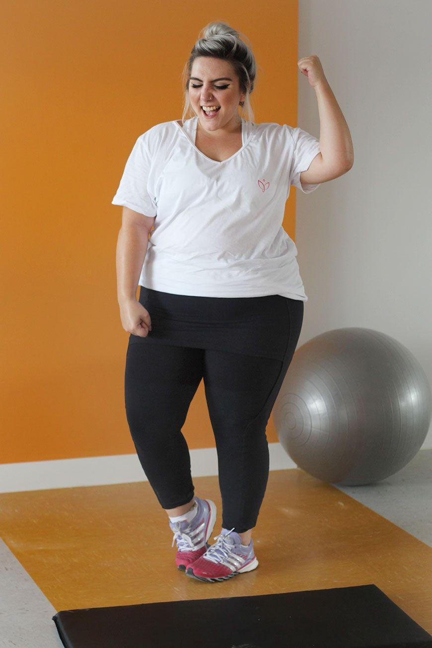 db4b601ab48f Roupas de ginástica plus size: porque a gente pode ser uma gorda ...
