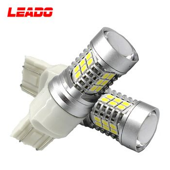 Waterproof Ip67 22w 12v Csl Auto Led Light Bulb T20 7743 W21w Led Brake Light Car Led Lights Led Light Bulb Light Bulb
