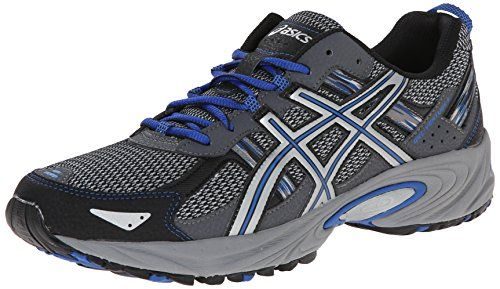 6b213ebc78cb ASICS Men s Gel Venture 5 Running Shoe Silver Light Grey Royal 11.5 M US