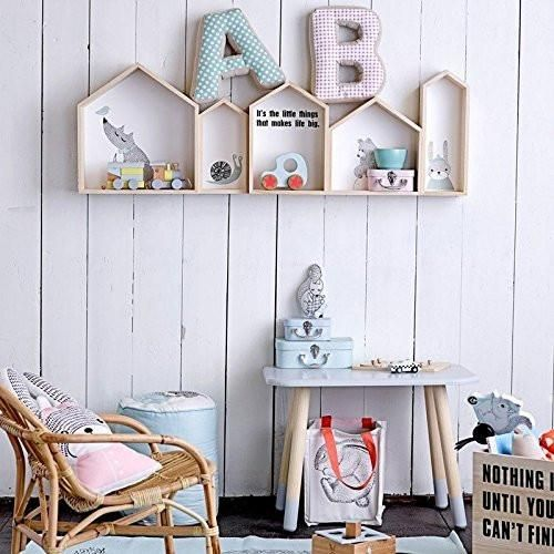 Bloomingville Mini Nursery House Wall Shelf Beaumonde