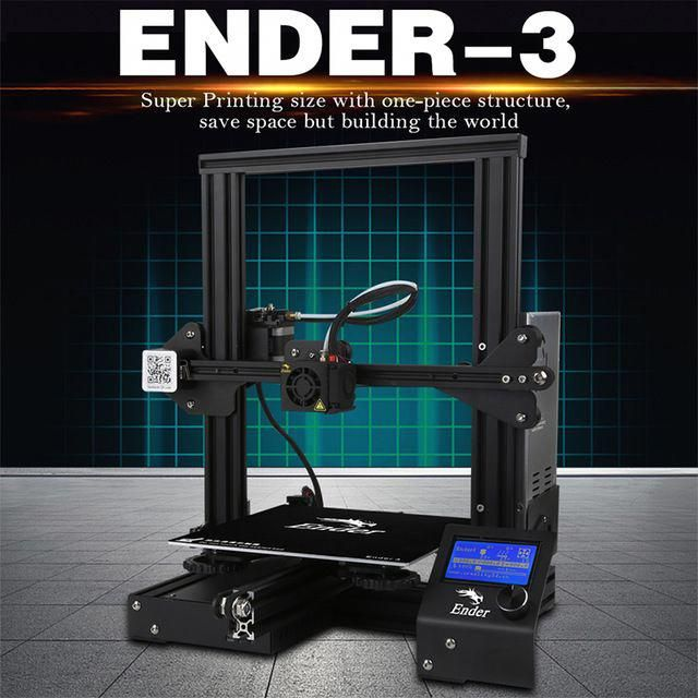 3d-drucker Und 3d-scanner 3-d-drucker Ender-3 Creality 3d Drucker V-slot Prusa I3 Kit Lebenslauf Stromausfall Drucker 3d Diy Kit 110c Für Brutstätte