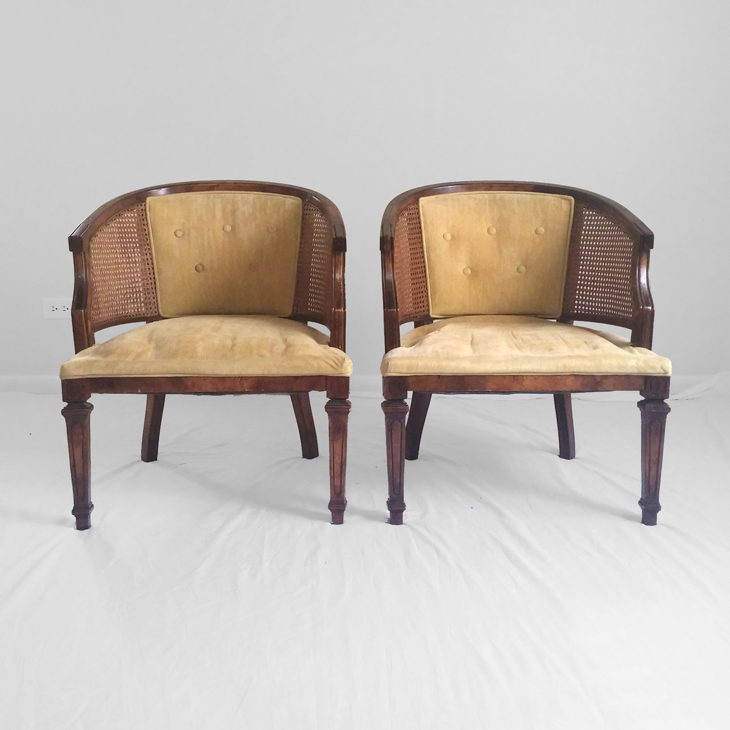 REDO for living room seating - 2 Hollywood Regency Neoclassical ...