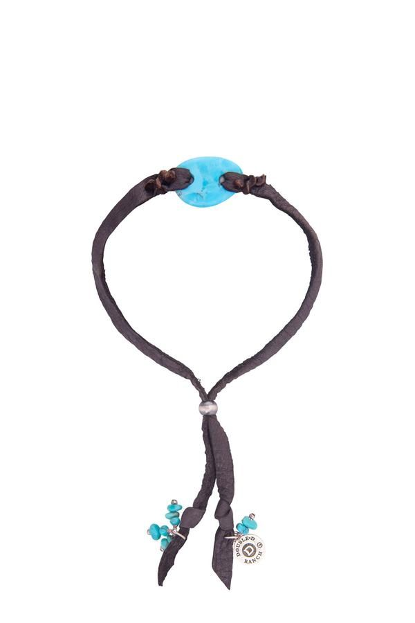 Bracelet, Collection, Turquoise & Leather, Dustin's Girl