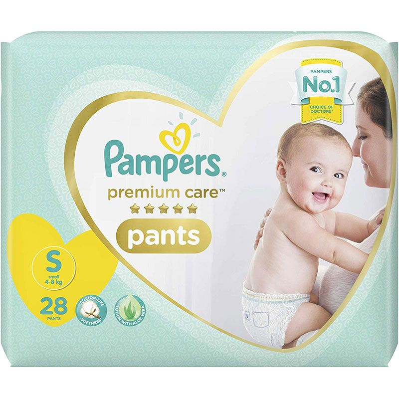 Pampers Premium Care Pants Small 28 Count Pampers Premium Care Pampers Baby Online
