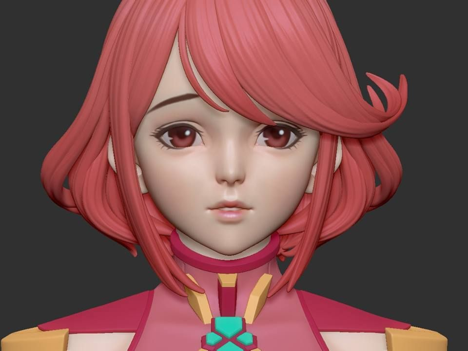 Pin by ash55 on 3d anime character anime characters