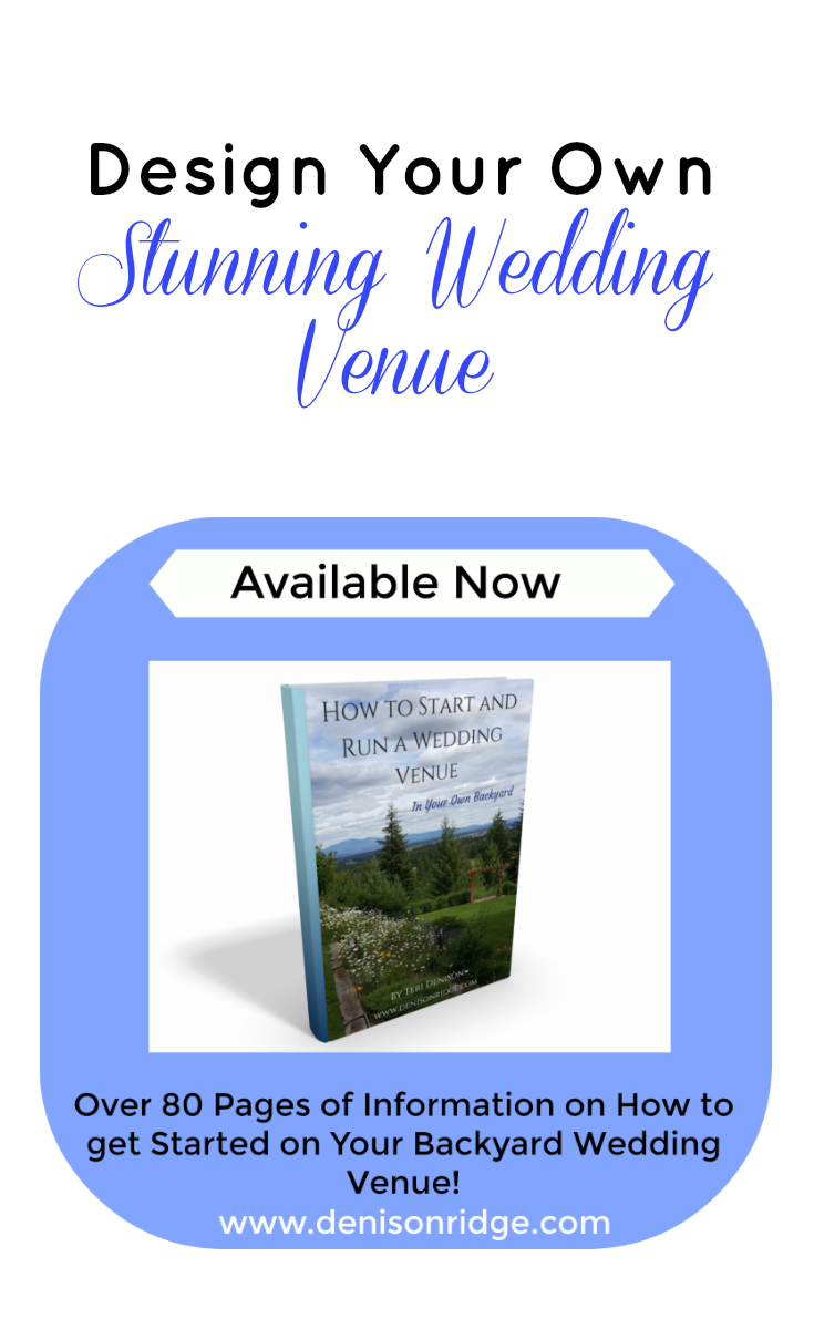 eBook: How to Start and Run a Wedding Venue - In Your Own Backyard ...