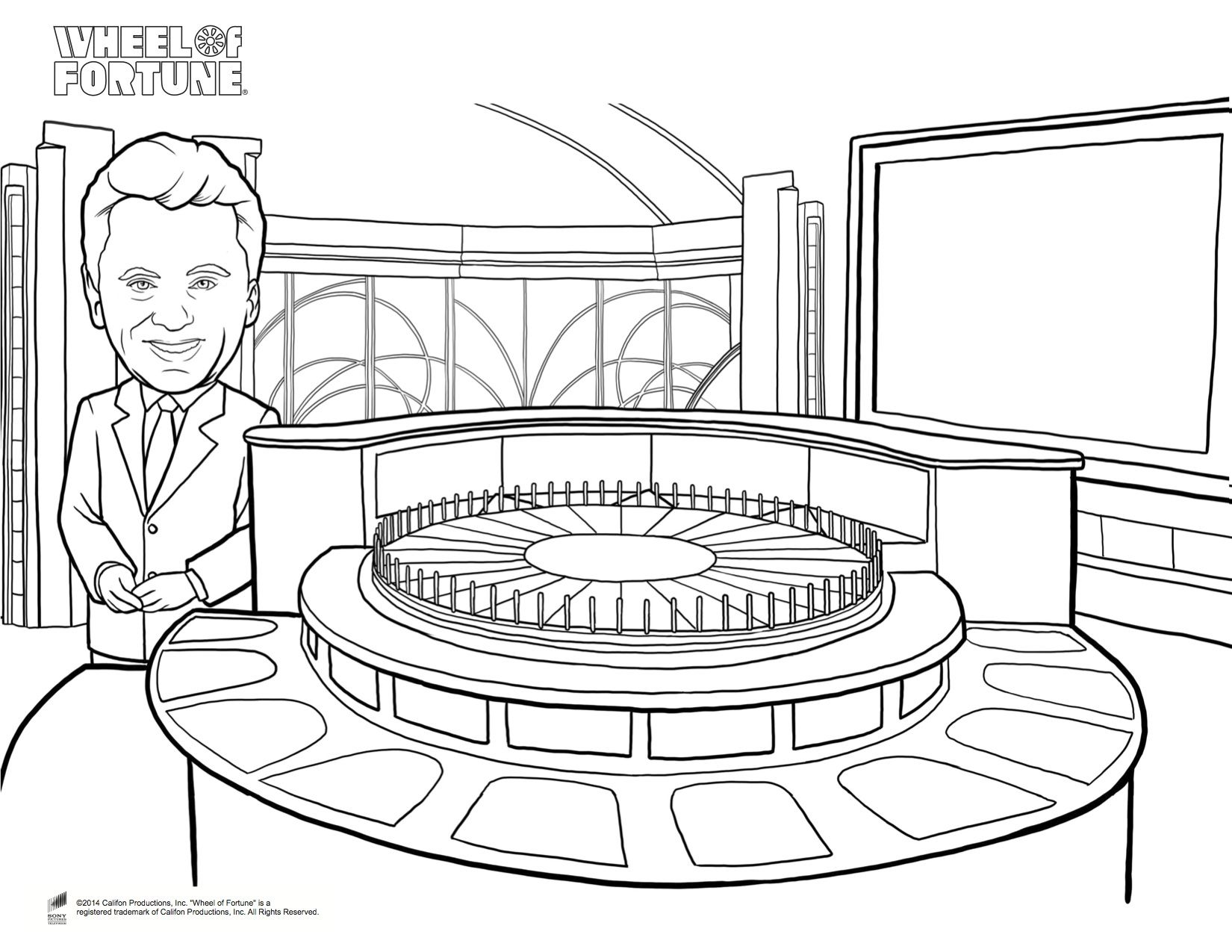 Pat Coloring Page