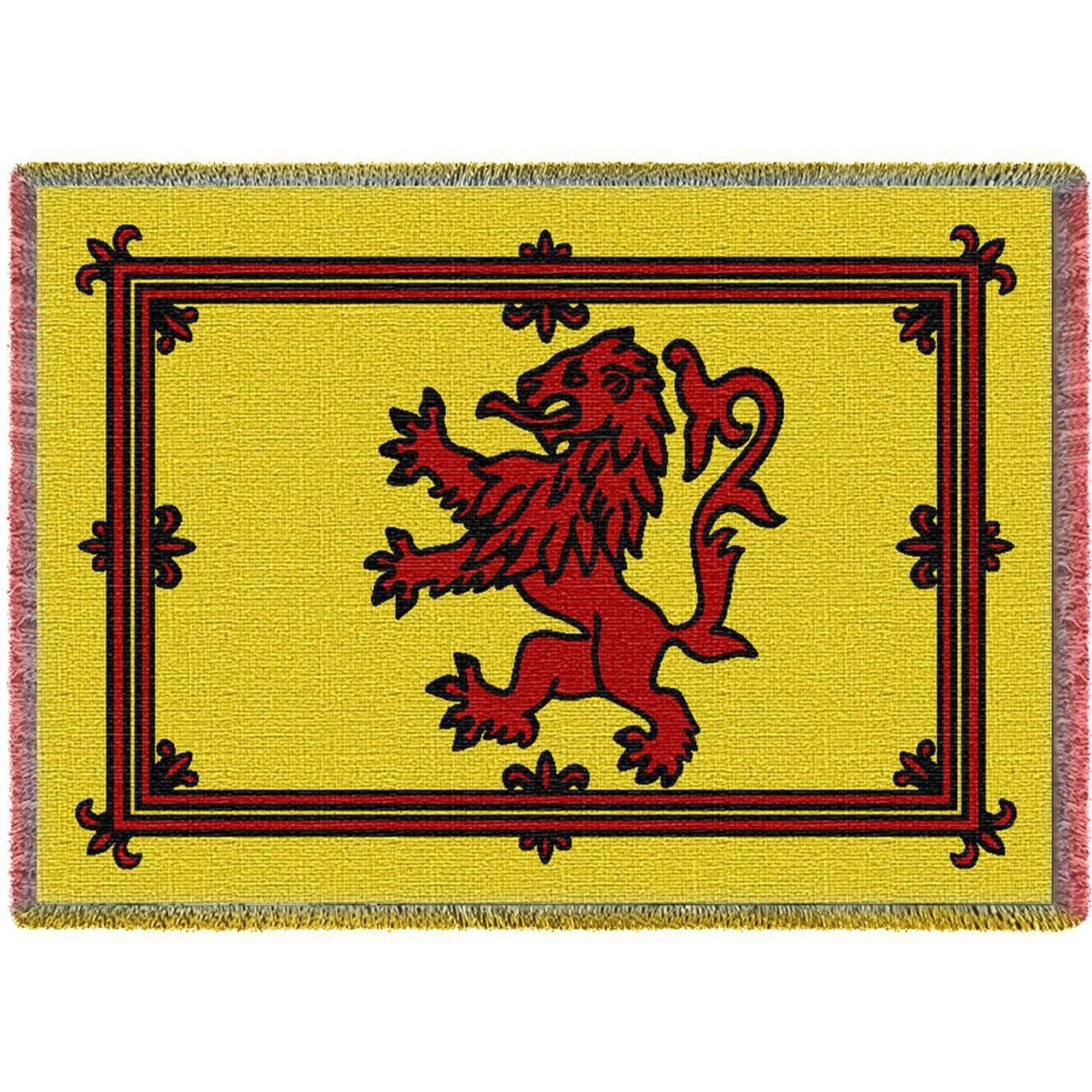 Scottish Lion Art Tapestry Throw   Lion art and Tapestry