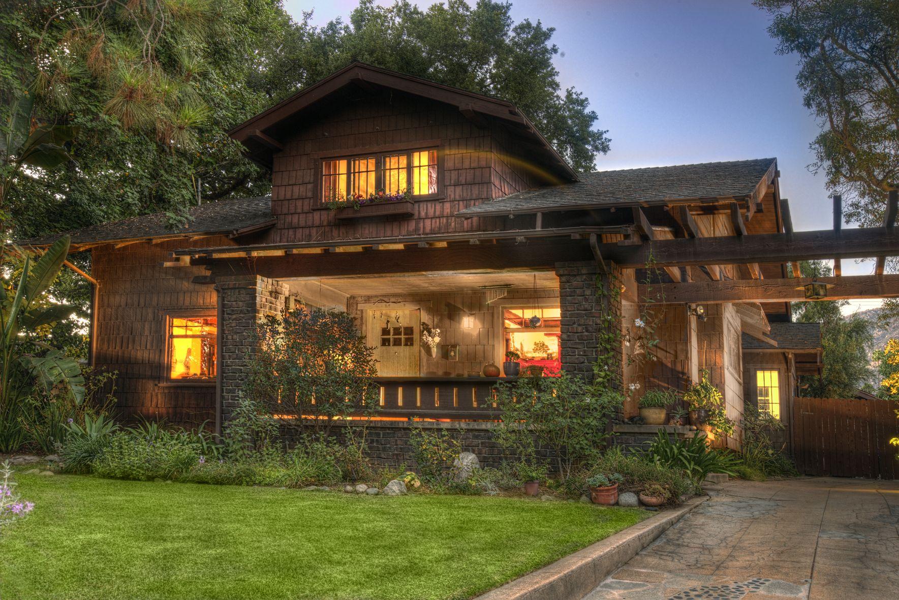 Craftsman Weekend: The Howell House, Harold Doolittle | Pasadena Heritage #craftsmanstylehomes