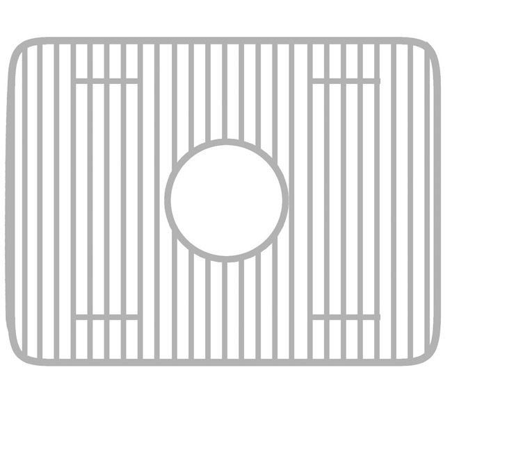 Stainless-Steel Apron Front Farm Sink Grid WHREV2018