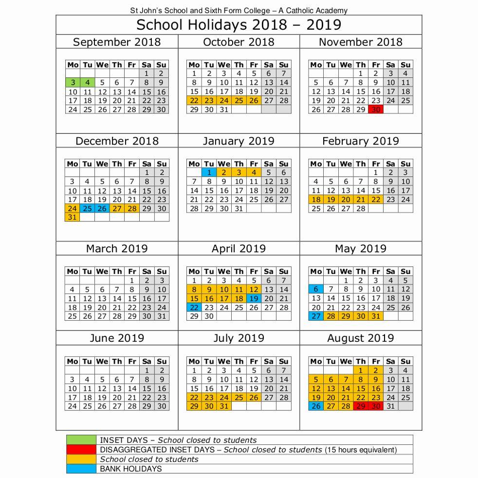 Unique 43 Illustration Holiday Calendar Australia 2019 2020