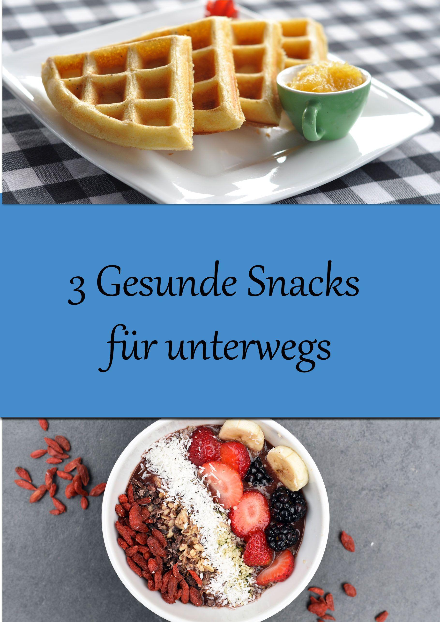 3 Einfache Gesunde Snacks Fur Unterwegs Zum Schnellen Abnehmen
