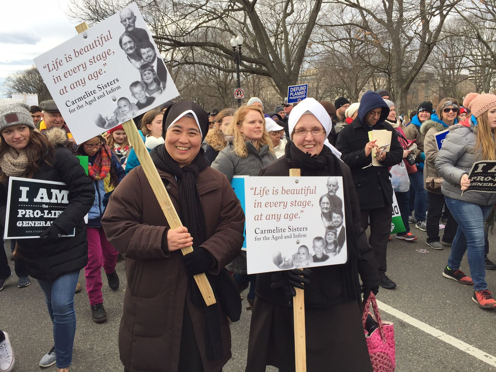 March For Life 2017 Sisters Life Life Is Beautiful