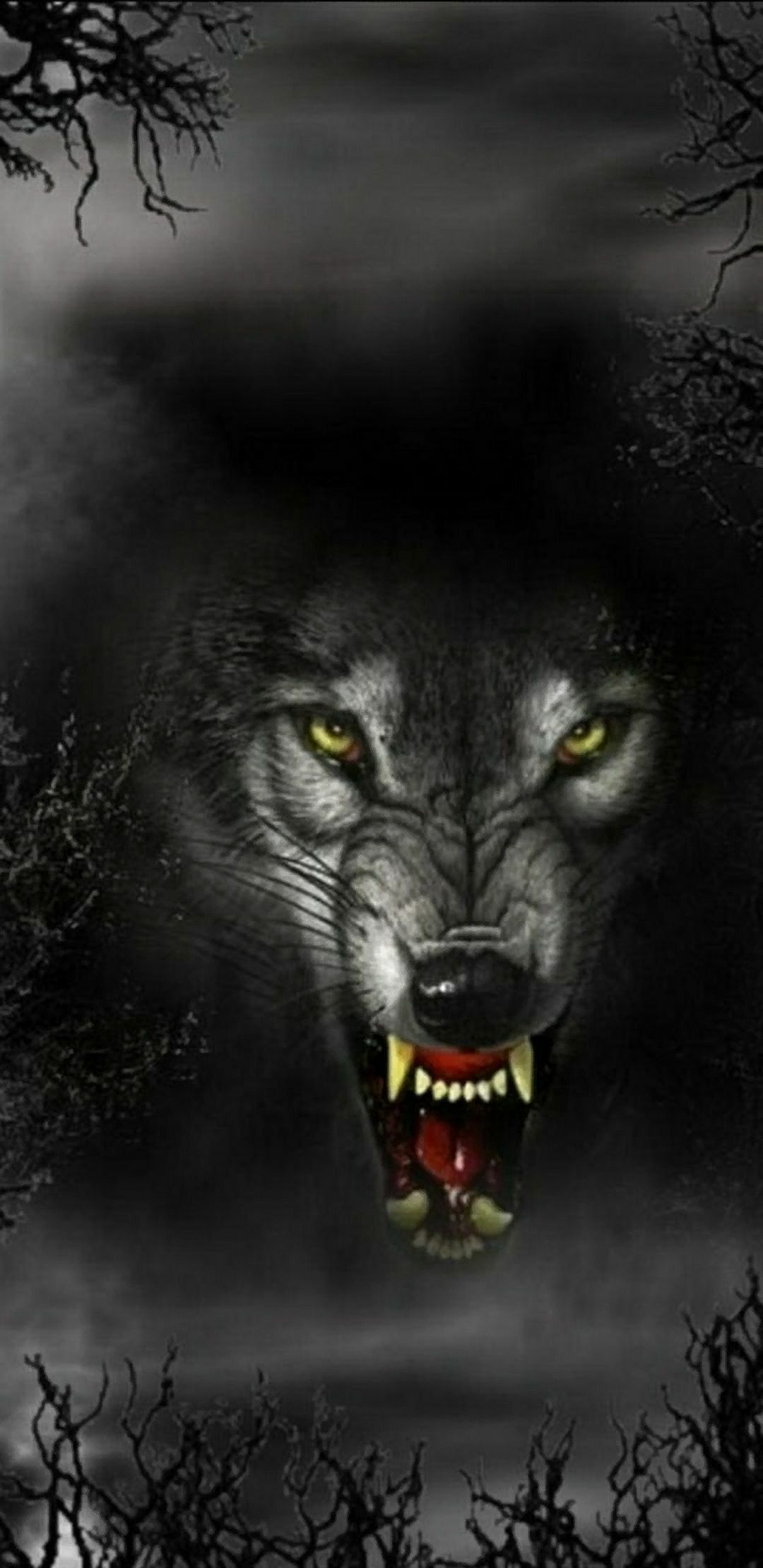 Pin By Rebecca Bullock On Samsung Galaxy S8 Wallpapers Wolf Angry