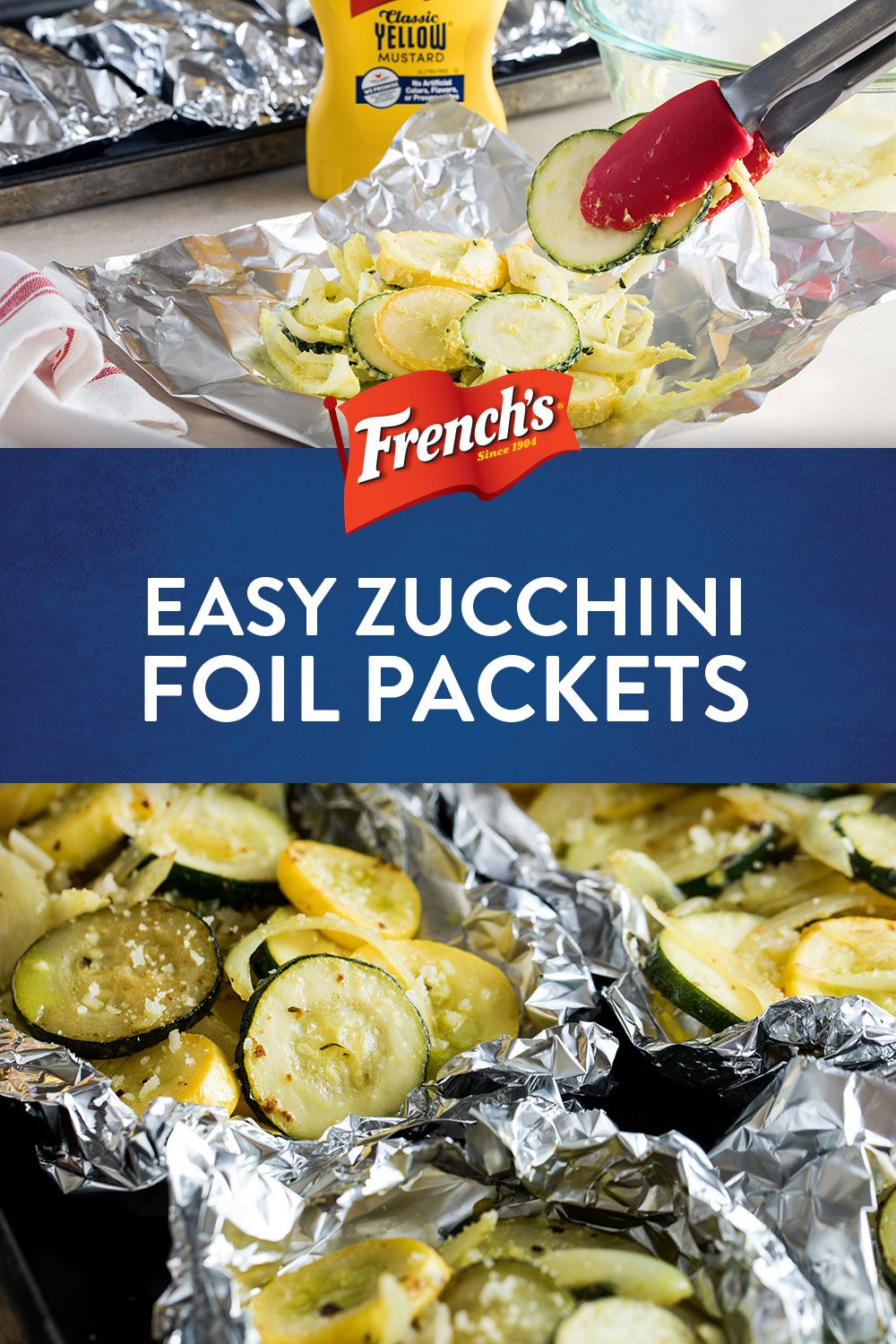 Easy Zucchini Foil Packets