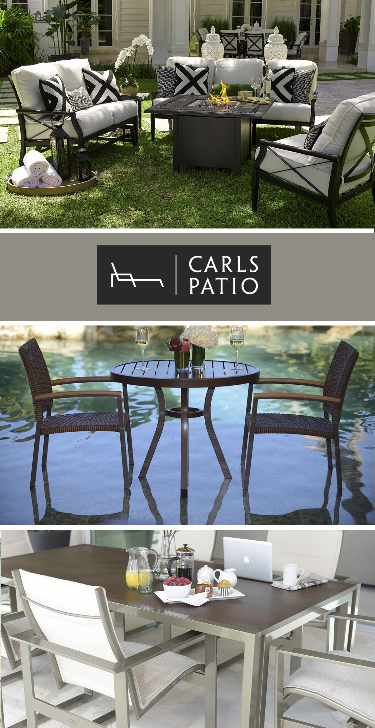 Stay Inspired With Carls Patio Outdoor Furniture This Summer Create Your Own Unique Living
