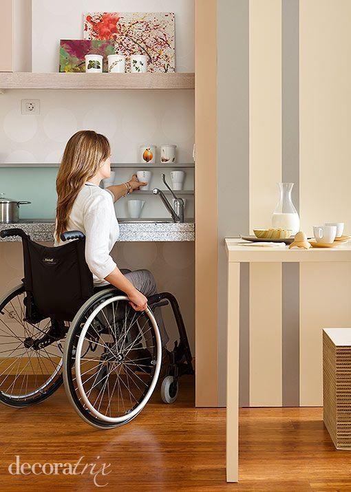 apartamento-accesibilidad-cocina   Living   Pinterest   Apartamentos ...