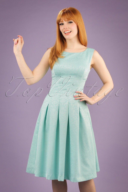 Dieses 60s Jacqueline Jacquard Swing Dress ist super klassisch! Dieses  wundervolle Kleid erinnert uns an ab7ab779b9
