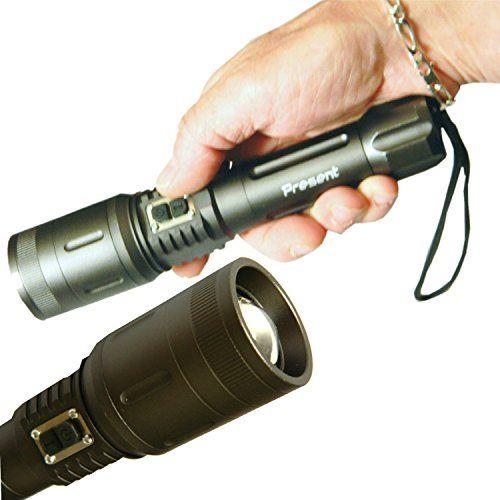 Lampe Torche Rechargeable Ultra Puissante D Une Portee De Plus 800