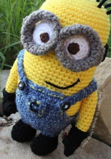 Despicable Me Minion | minions crochet | Pinterest | Minion crochet ...