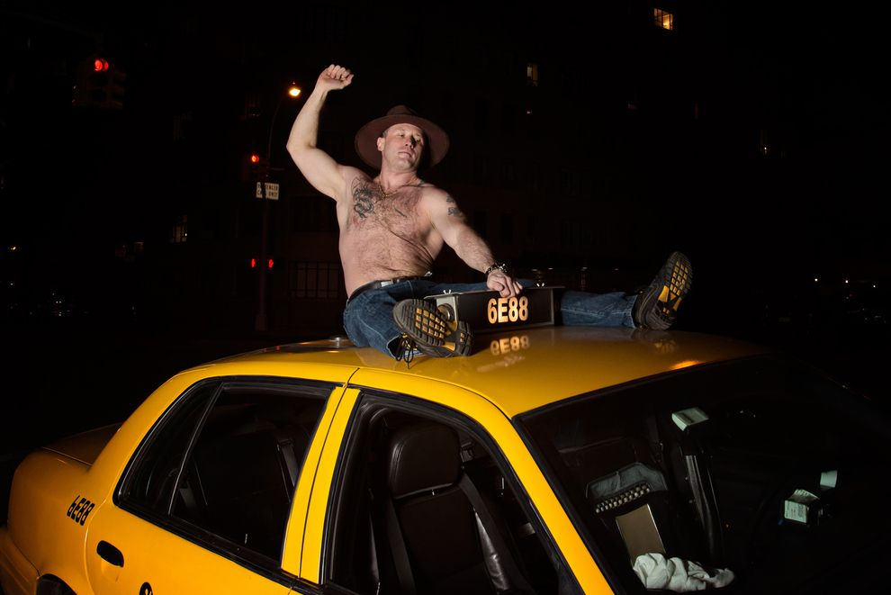 The 9 Sexiest Pinups Of New York S Beefcakiest Cab Drivers Taxi