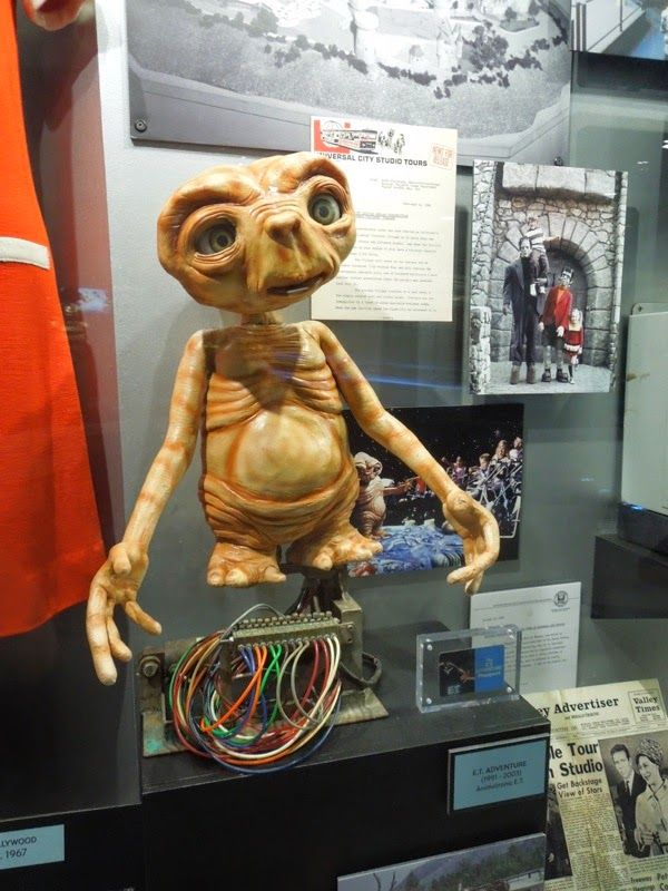 e t adventures animatronic 1991 2003 movie props movies