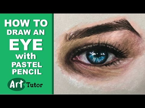 how to draw eyes using pastel pencils youtube portraits