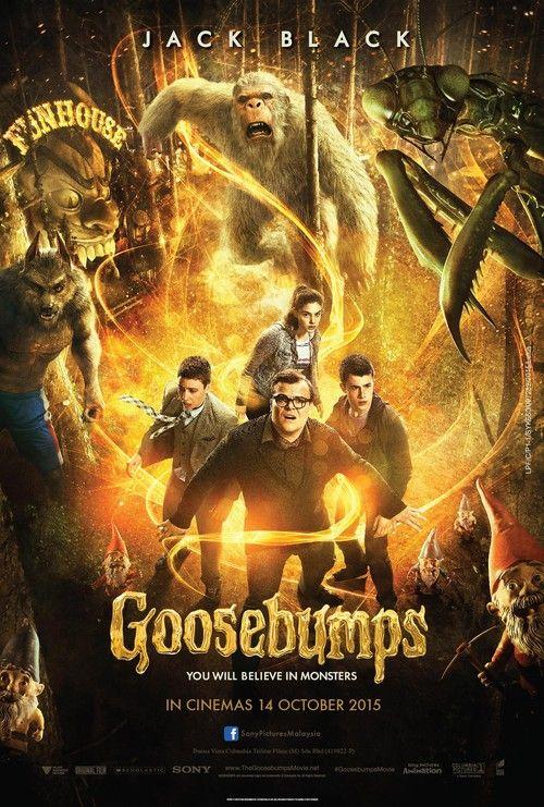 Goosebumps Dvd Release Date Redbox Netflix Itunes Amazon Goosebumps Film Goosebumps The Movie Goosebumps