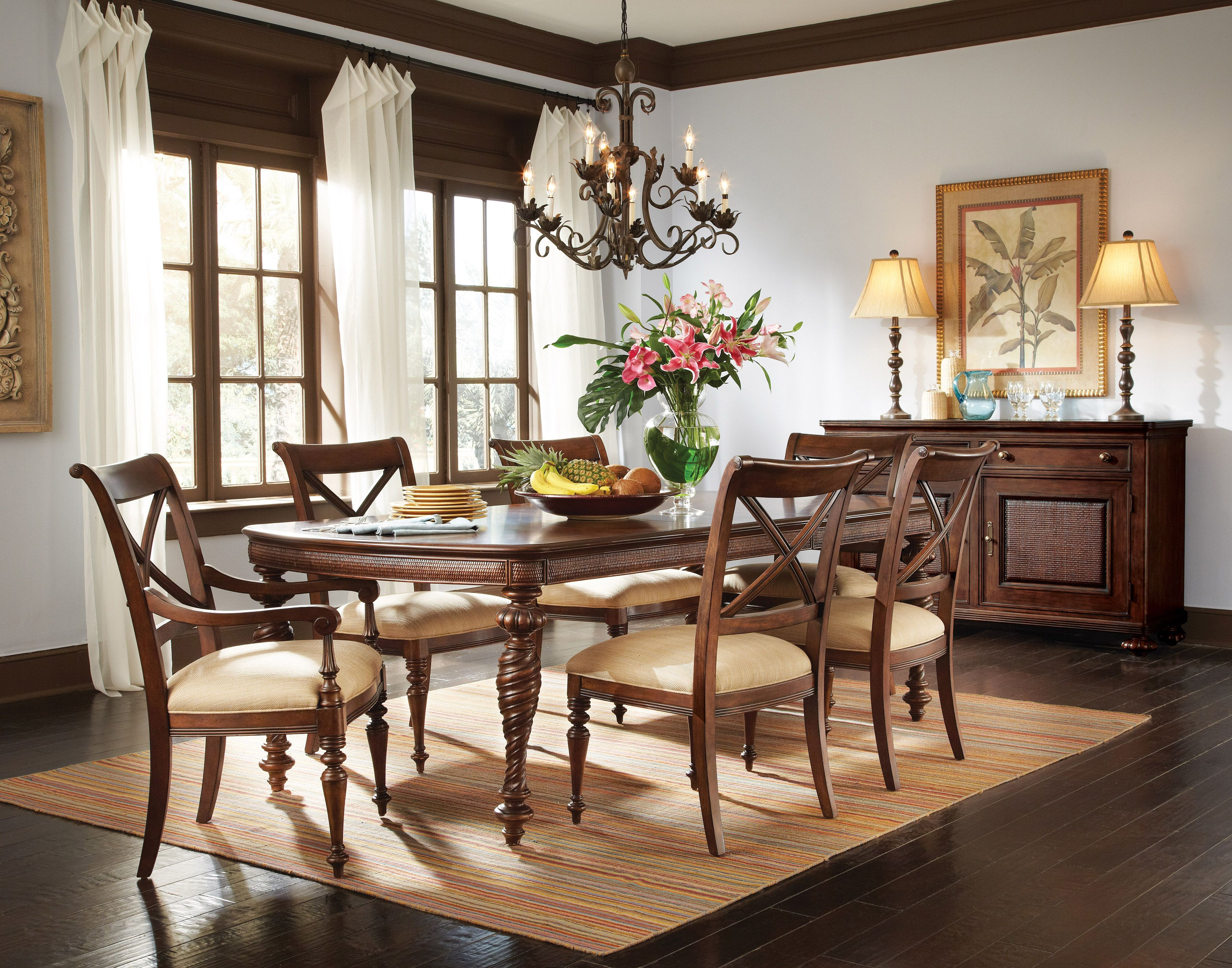 Image Result For British Colonial Dining Room