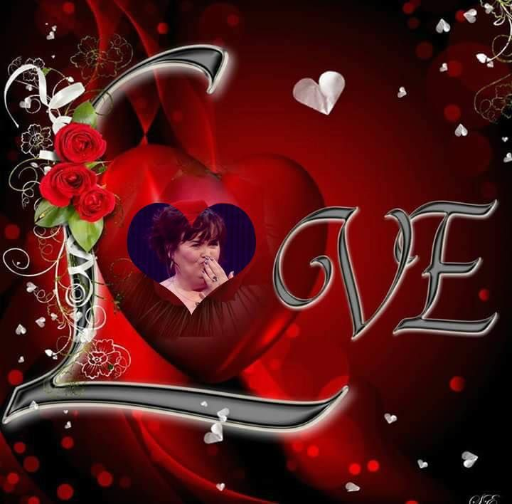 Beautiful design by Gayle !  Susan knows how to share her love =she reaches  out to her fans , children in need the veterans etc ! A true inspiration to us all ~``