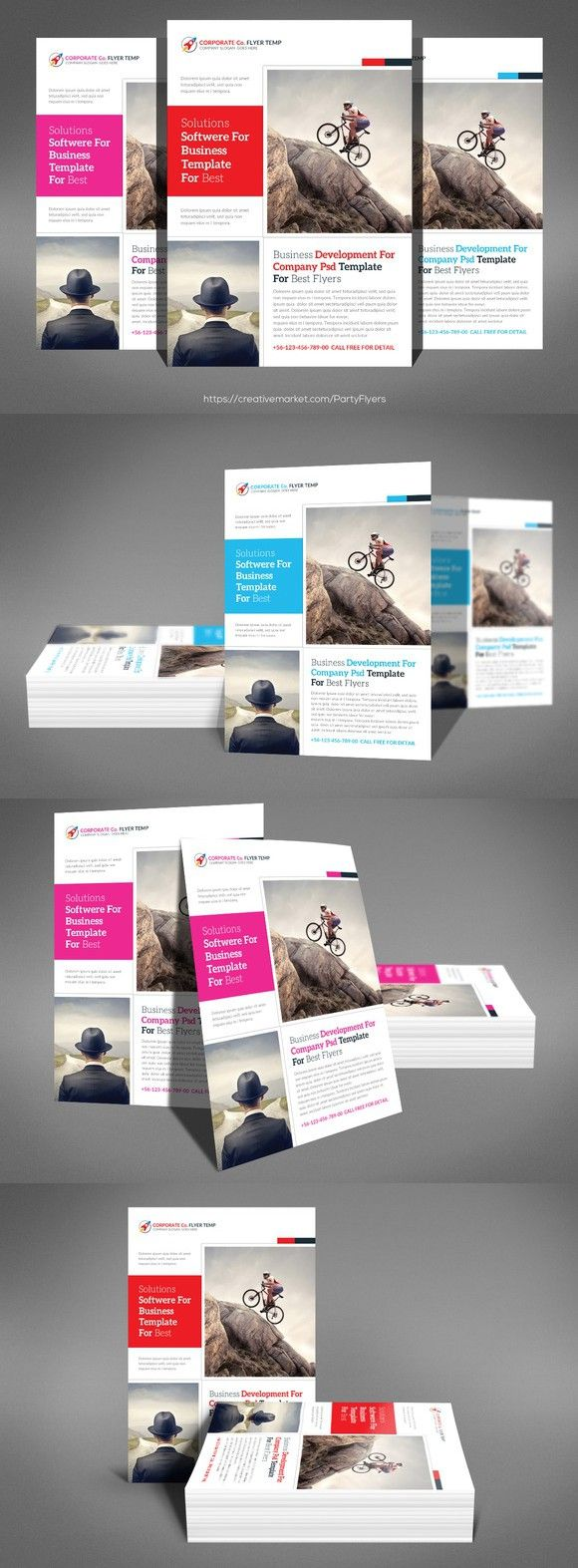 Small Business Consulting Flyer. Flyer Templates