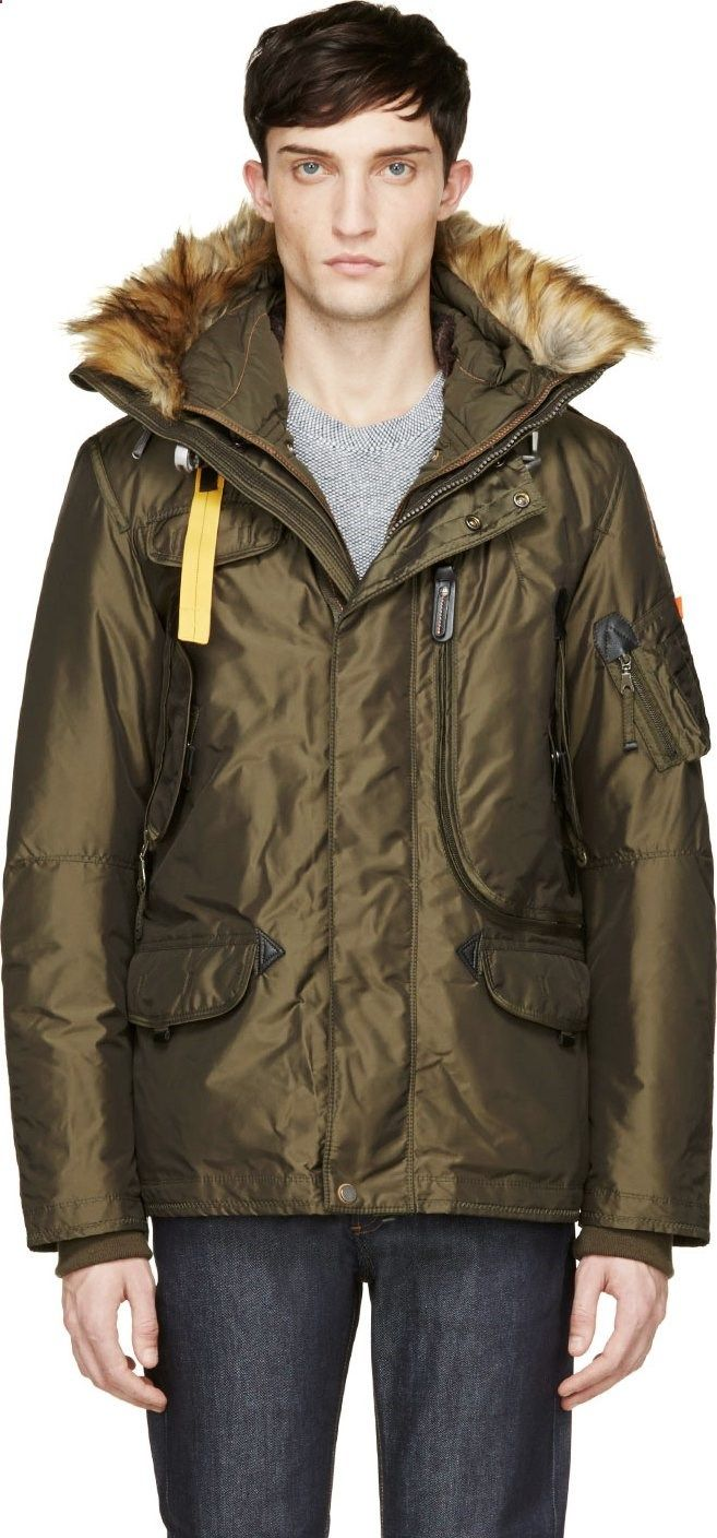 parajumpers olive green