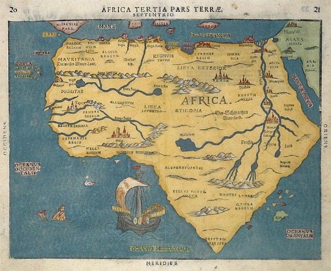 Terra Incognita   Geographical Fugue   Africa map, Map, African map
