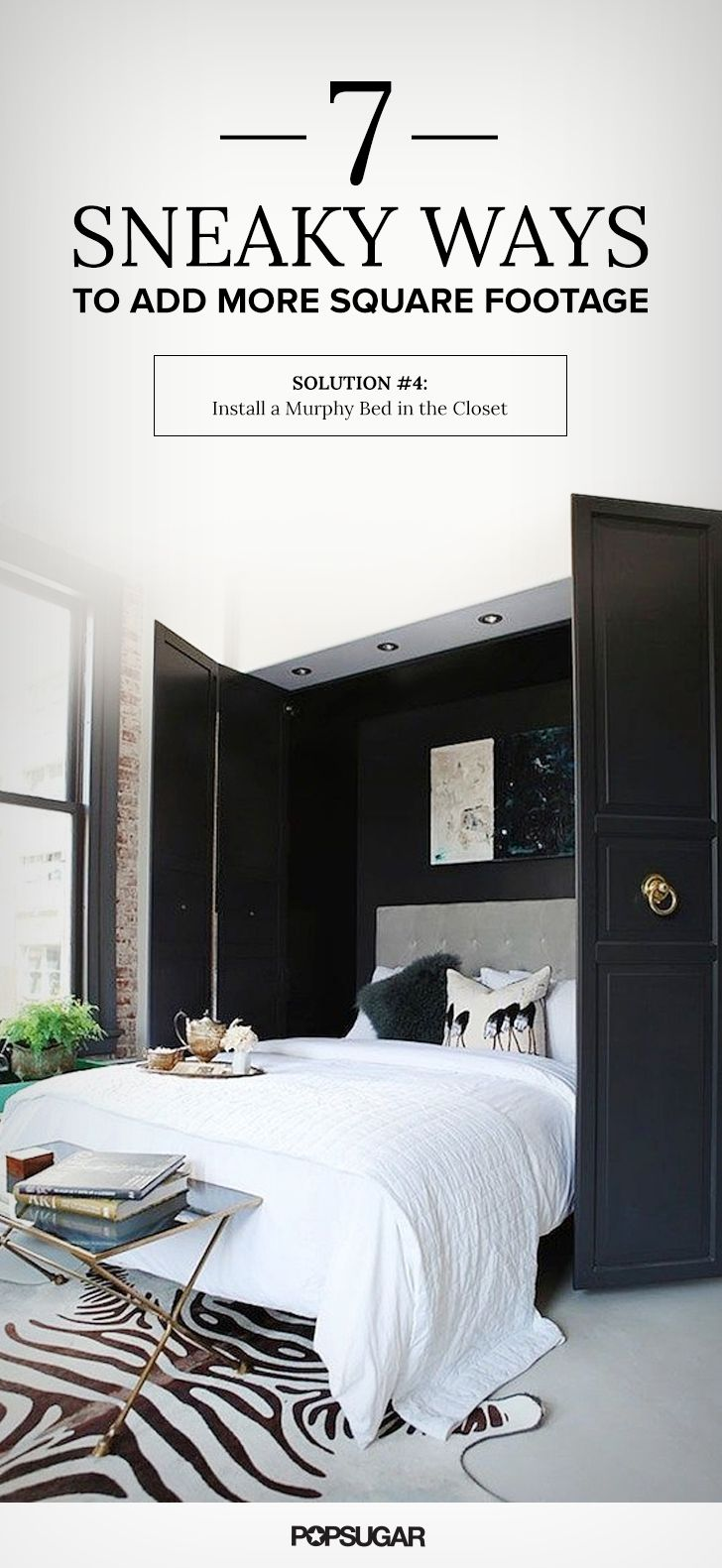 7 sneaky ways to add more square footage murphy beds for How to add square feet