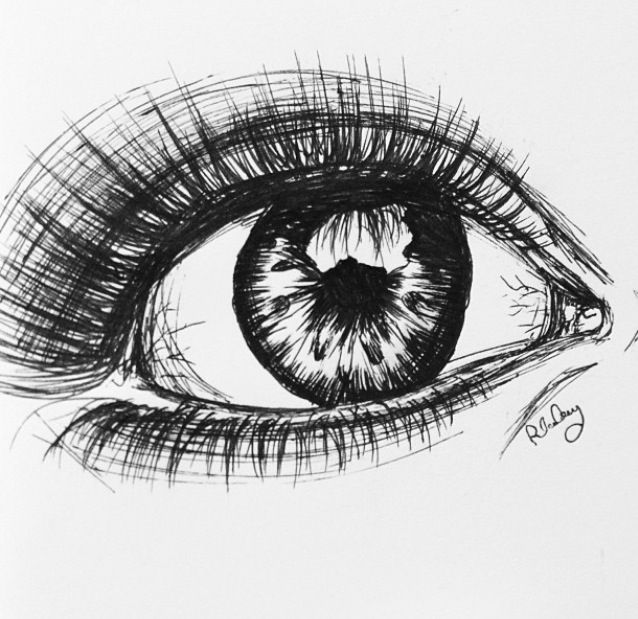 Drawing idea - eye