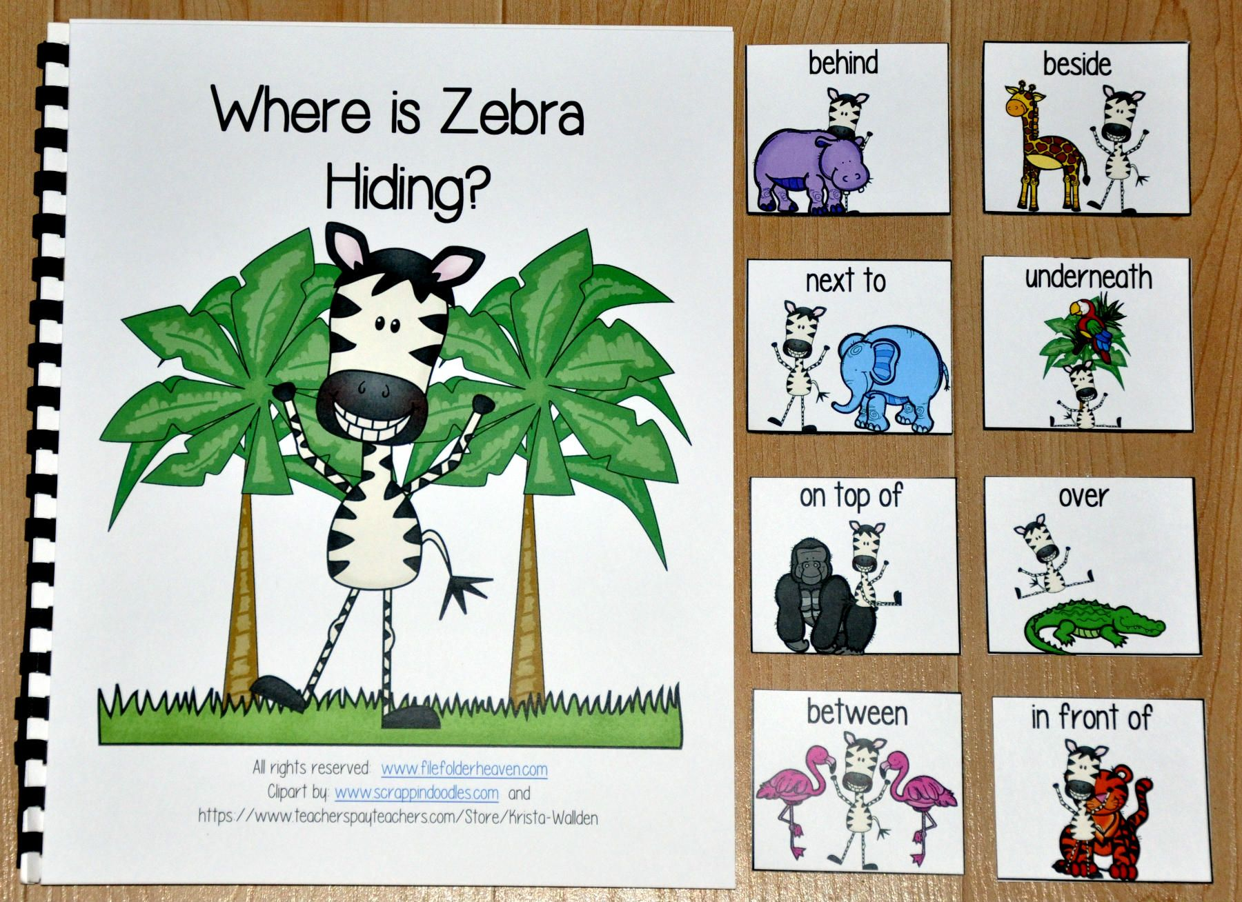 This Zoo Adapted Book Where Is Zebra Hiding Teaches